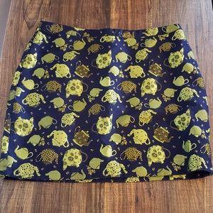 ModCloth Brocade Teapot Skirt